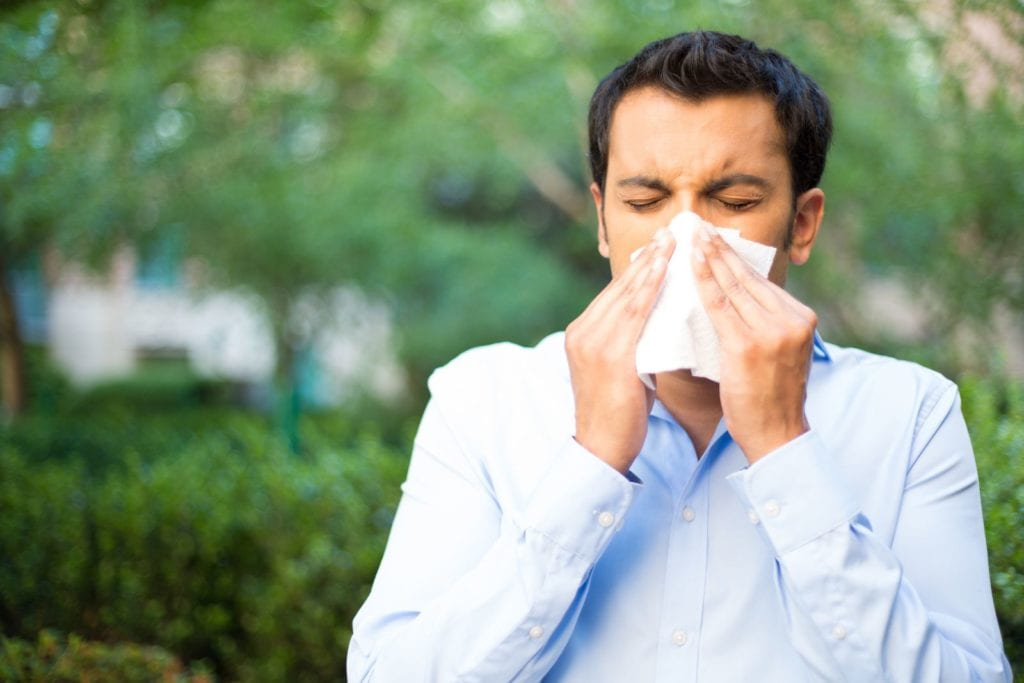 To avoid putting a damper on activities with wheezing and sneezing, keep the following tips in mind